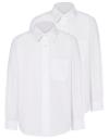 Рубашка для девочек  с вышитым названием школы